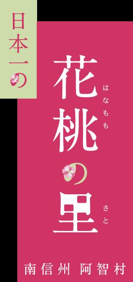 日本一の花桃の里 南信州阿智村 -